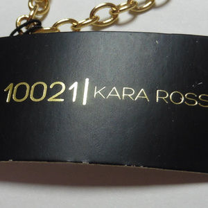 Kara Ross Jewelry - Kara Ross Graduating Blue Crystal Necklace jr1